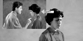 Egy feldúltság kezelhető assziszttal. A nő figyelme leragadt egy nemrég lezajlott veszekedésen.