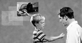 Dessa händelser försvinner när man förmår barnet att prata om den aktuella upprördheten.