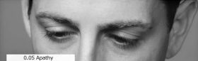 What a person does with his eyes can help you spot his position on the Tone Scale.