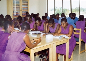 Teachers in Ghana train in Applied Scholastics educational methodology.