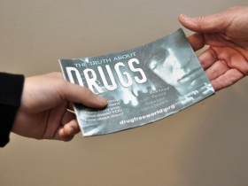 The Truth About Drugs booklets are designed to speak directly to young people about the dangers of drug abuse.