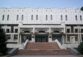 The Republican Library for Children and Youth – where Ms. Sultangazieva's seminars educate children from across Kyrgyzstan.