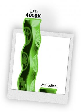 ЛСД в 4000 раз мощнее, чем мескалин.