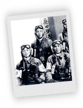 Kamikaze piloten kregen net voor hun zelfmoordmissies methamfetamine .