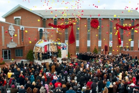 The Church of Scientology Greater Cincinnati celebrated the grand opening of its new Church in Florence, Kentucky. Scientologists, guests and state, county and city officials attended the dedication ceremony. The new Church of Scientology will not only provide services to its parishioners, but will extend the Church's humanitarian initiatives and community outreach programs throughout the Ohio-Kentucky-Indiana Tri-state region.