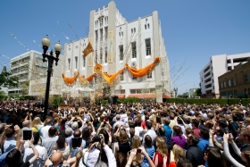 <p>On Saturday, June 2, more than 5,000 Scientologists and guests celebrated the grand opening of the Church of Scientology of Orange County. The Church stands at 505 North Sycamore Street just steps from the birthplace of the city of Santa Ana.</p>