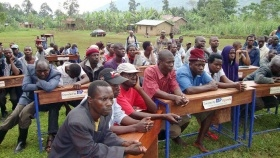 Residents of Bududa, Uganda, receive training from Scientology Volunteer Ministers.