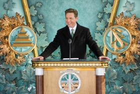 Mr. David Miscavige, Chairman of the Board Religious Technology Center and ecclesiastical leader of the Scientology religion, led the dedication ceremony with local Church officials.