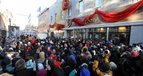 Indvielsen af den nye Scientologi kirke i Québec/Eglise de Scientologie de Québec fandt sted samtidig med Québecs berømte vinterkarneval, den 30. januar 2010. Dette var den syvende nye Scientologi kirke, der åbnede i det forløbne år.