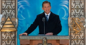 Mr. David Miscavige, Chairman of the Board of Religious Technology Center and ecclesiastical leader of the Scientology religion, dedicated the new Church of Scientology of Quebec/ Eglise de Scientologie de Quebec.