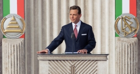 Mr. David Miscavige, Chairman of the Board of Religious Technology Center and ecclesiastical leader of the Scientology religion, presided over the dedication and opening of the new Church of Scientology of Rome.