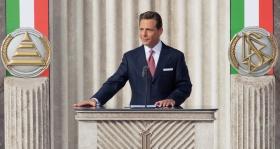 David Miscavige, Bestyrelses-formanden for Religious Technology Center og Scientologi religionens kirkelige leder, stod for indvielsen og åbningen af den nye Scientologi kirke i Rom.