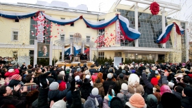 The new home for the Church of Scientology of Moscow was dedicated before more than 2,000 Scientologists, Russian government, religious and human rights dignitaries. The ceremonies marked the grand opening of the first major Church of Scientology in the Russian Federation.