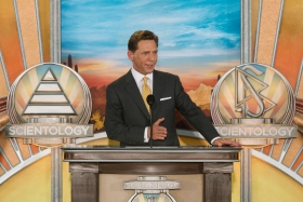 Mr. David Miscavige, Chairman of the Board Religious Technology Center and ecclesiastical leader of the Scientology religion, led the dedication.