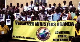 The Uganda Volunteer Ministers deliver some 400 seminars each week. Another 200 Volunteer Ministers groups are in training to greatly expand their service to the country.