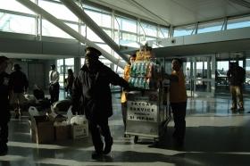 Várias toneladas de suprimentos urgente ...