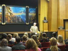 Serviço Solene, na Igreja de Scientology de Nova Iorque, em memória do 11 de setembro.