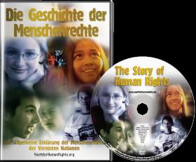 """""""Die Geschichte der Menschenrechte"""" DVD – Version für Kinder und Jugendliche"""