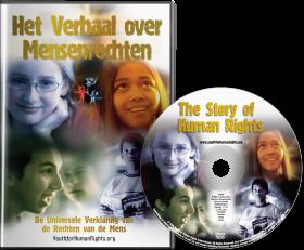 <em>Het Verhaal over Mensenrechten</em> DVD – Speciaal voor Jongeren