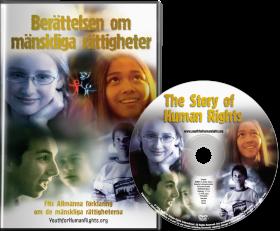 Dvd:n Berättelsen om mänskliga rättigheter – Version för unga