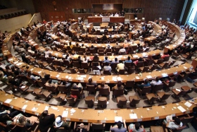 Delegerede fra 49 nationer sluttede sig til diplomater og menneskerettigheders ledere i FN's hovedkvarter for at ære menneskerettighedsaktivister og ser den international premiere af 30 public service-meddelelser, der fremmer Verdenserklæringen om Menneskerettighederne.