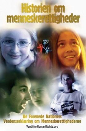 Historien om menneskerettigheder Hæfte i ungdomsudgave