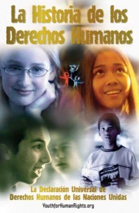 """El folleto """"La Historia de los Derechos Humanos"""", Edición Juvenil"""