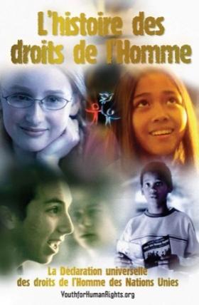Livret L'histoire des droits de l'Homme — Édition Jeunesse