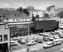 El primer Centro de Celebridades, Los Ángeles, California, 1969.
