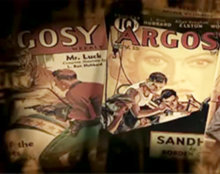 L. Ron Hubbard a écrit des histoires en tous genres pour des dizaines de revues de fiction populaire telles que Argosy et Astounding Science Fiction.