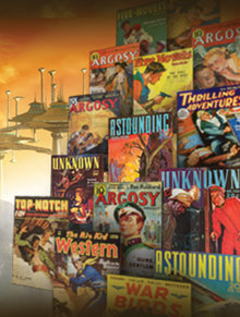 Las historias innovadoras y humanas de L.RonaldHubbard tuvieron influencia en la dirección y el éxito de revistas como Astounding Science Fiction y Unknown, ayudando así a reformar géneros enteros.