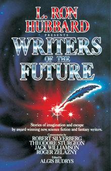 Prima edizione dell'antologia Writers of the Future, maggio 1985.