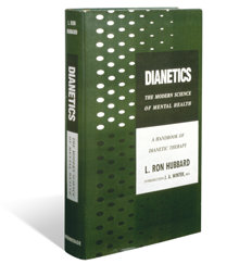 Первое издание книги «Дианетика: современная наука о разуме», опубликованное 9 мая 1950 года.