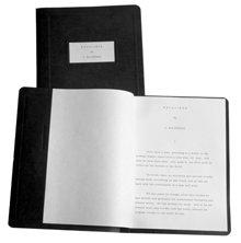 """El manuscrito """"Excalibur"""" de L.RonaldHubbard, en el que presentó por primera vez el impulso único que subyace a toda la conducta humana: Sobrevive."""