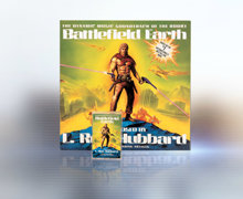 L. Ron Hubbards Battlefield Earth-album – baseret på hans internationale bestseller – var det første litterære soundtrack.