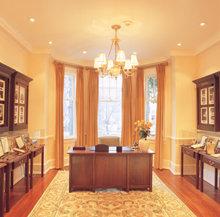 De receptie in de Moederkerk van Scientology in Washington DC, met daarin een expositie over de vroegere jaren van het leven van L. Ron Hubbard.