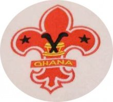 The symbol of the Ghana Boy Scouts.