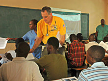 An active partner in the Rockland County Haiti Relief Coalition, Lindeman conducted the August 2011 training sessions the Coalition organized in Haiti.