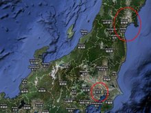 Main areas of VM activity: Tokyo and in the tsunami-hit Miyagi Prefecture