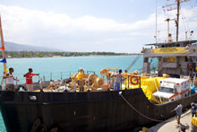 "Scientology Volunteer Ministers ""Lifeboat for Haiti."""
