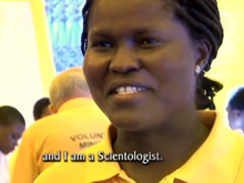 Scientology Volunteer Minister Patience Freeman