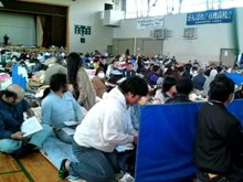 Most Volunteer Minister groups are helping in the shelters in Northern Japan that took on the majority of the 450,000 who were displaced after the March 11 earthquakes.