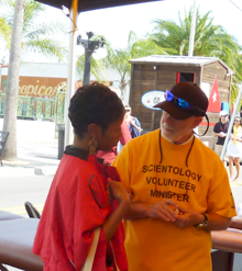Volunteer Ministers of the Church of Scientology of Tampa are always willing to lend an ear and help people resolve problems.