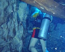 Scientology Volunteer Ministers learned underwater search and rescue.