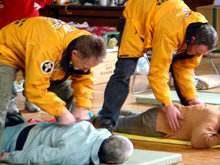 "Often described as ""spiritual first aid,"" assists help the individual overcome the effects of loss, shock and trauma speeding recovery."