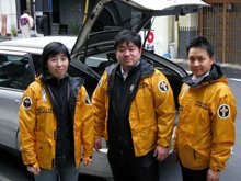 Volunteer Ministers in Tokyo are gearing up to help their fellow-countrymen.