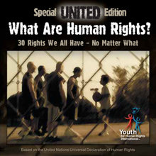 El galardonado video musical de sabiduría callejera, UNITED, de Jóvenes por los Derechos Humanos Internacional.