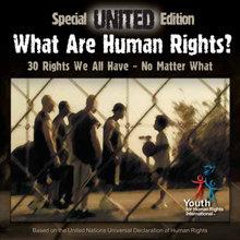 El galardonado y lleno de sabiduría callejera vídeo musical UNITED, de Juventud por los DerechosHumanos Internacional.