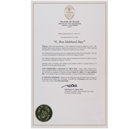 Μέρα του Λ. Ρον Χάμπαρντ - Γραφείο του Διοικητή, Νήσος Γκουάμ Απονέμεται στον Λ. Ρον Χάμπαρντ για τη μελέτη
