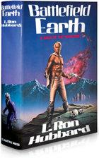 Førsteutgaven fra mai 1982 av Battlefield Earth, en varig bestselger.